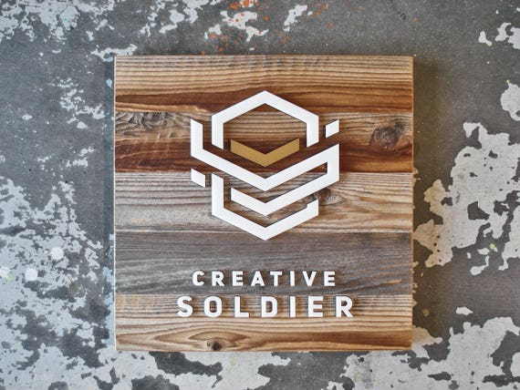 Personalized Logo Sign| Framed Logo Wood Signs Logo Sign Business Sign Custom Logo Sign Business Logo Sign Logo Wood Sign