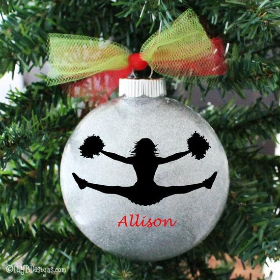 2020 Christmas Ornament Cheerleader Ornament Christmas Tree Ornament Cheerleader Coach Gift Personalized Ornament Cheer Ornament