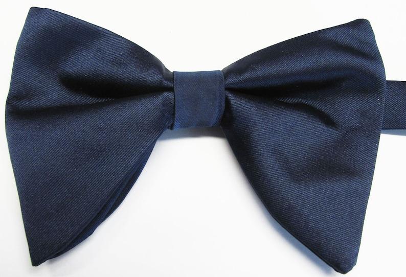 c1613c7227e6d Navy Blue Satin Tom Ford Inspired Navy Blue Midnight Satin | Etsy