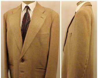 Vintage 70s Wayrich Men's Corduroy Sport Coat Jacket Size 42R