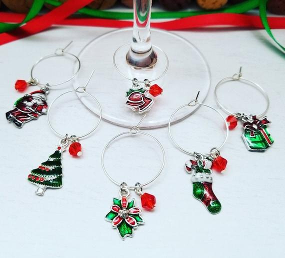 image 0 - Christmas Wine Charms
