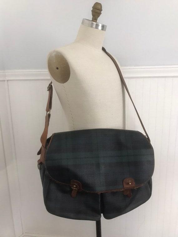6b64684be59 Ralph Lauren Bag Messenger Bag Black Watch Bag   Etsy