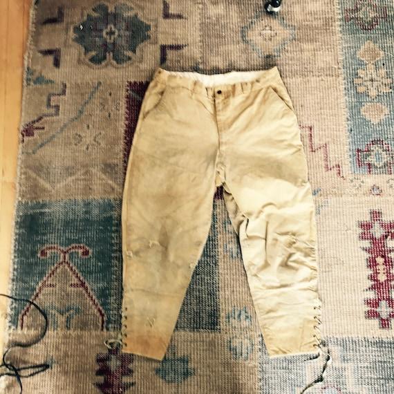 Vintage Duxbak Hunting Pants Workwear Riding Breec