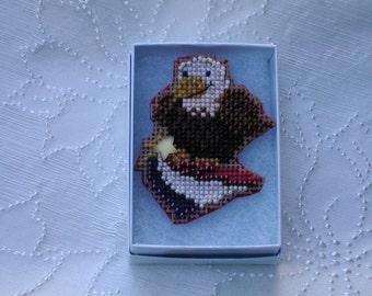 Eagle Patriotic Pin