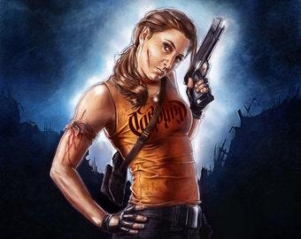 Personalised Movie Poster, Rambo Movie Poster, Custom Portrait, Custom Painting, Custom Movie Poster, Personalised Wall art, Art Commission