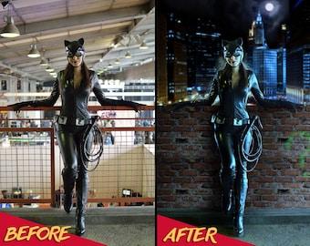 Photo Editing Service, Fantasy Digital Background, Cosplay Photo Manipulation, Photo Enhancement, Cosplay, Color correction, Photoshop