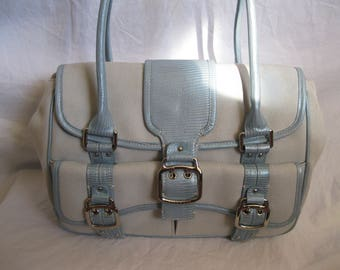 Blue Canvas Cole Haan Satchel