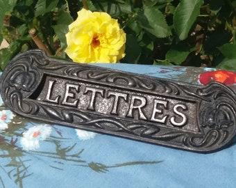 Boites Aux Lettres Vintage Etsy Fr