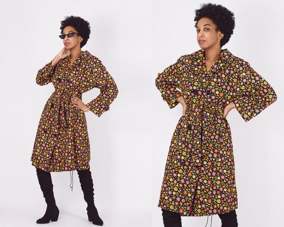 VINTAGE 70S DRESS, 70s Floral Dress, Vintage 70s M