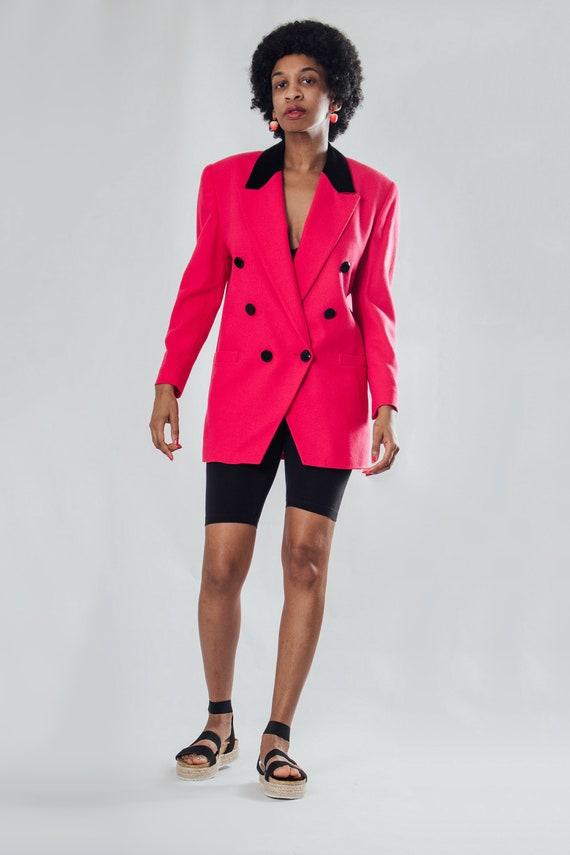 Vintage 90's Hot Pink Blazer (S)