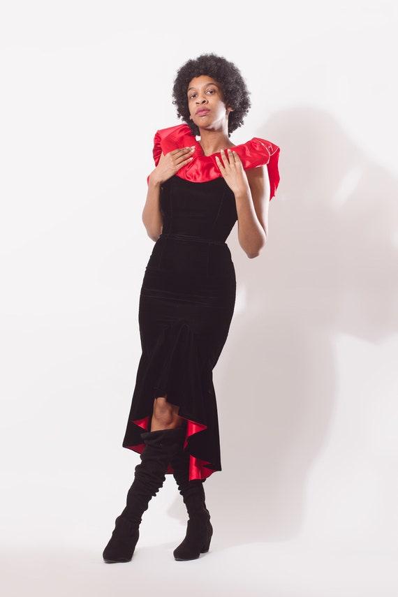 Vintage 80s Jessica McClintock Gunne Sax Prom Dre… - image 2
