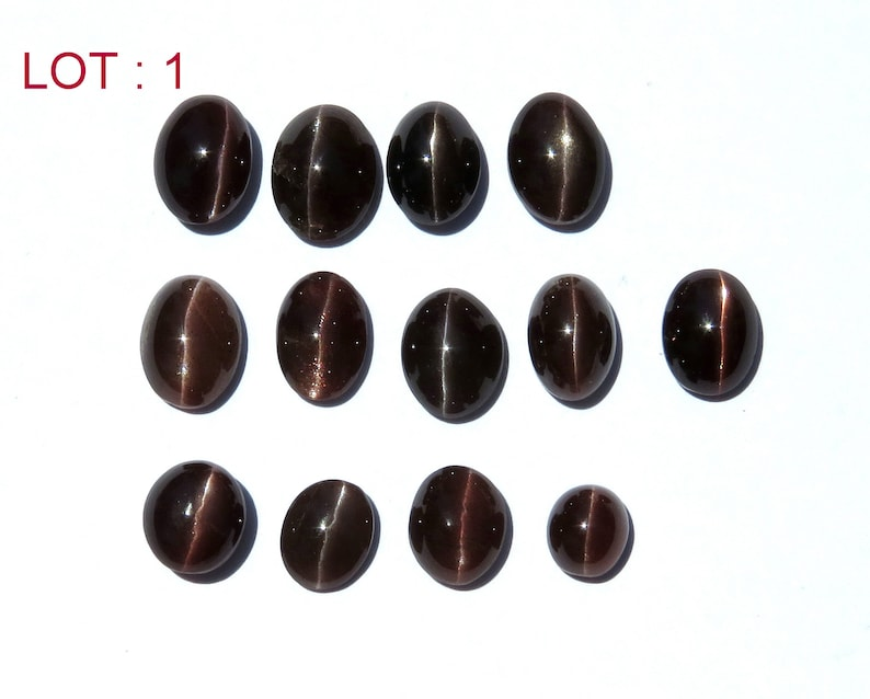 Natural scapolite cat/'s eye Cabochon round and oval Shaped Lot best Fire just like eye