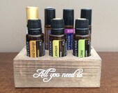 Essential Oil Holder For Roller Balls Bottles All You Need Is - By Coastal Drift