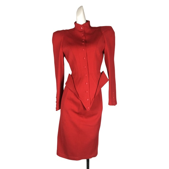Thierry Mugler Red Suit COLLECTIBLE