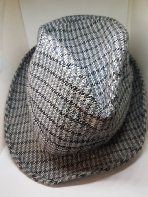Greenwoods Trilby hat dogtooth trilby hat hunting