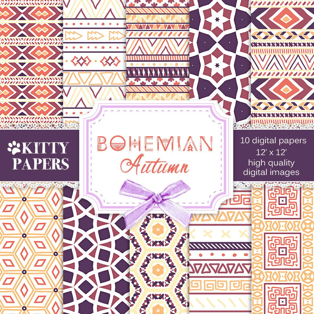 Bohemian Patterns Custom Design Ideas