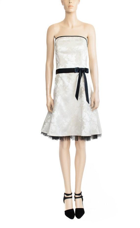 1980s Vintage Dress 8os Jessica McClintock Gunne S