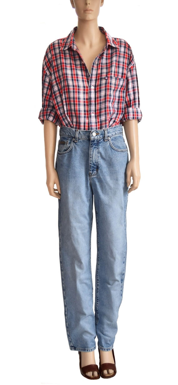 Vintage 1990s Jeans, 90s Calvin Klein CK Blue Denim Jeans Tamaño 8