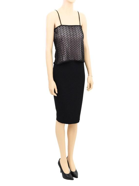 Vintage Tops, Jill Anderson Black Lace Camisole, … - image 3