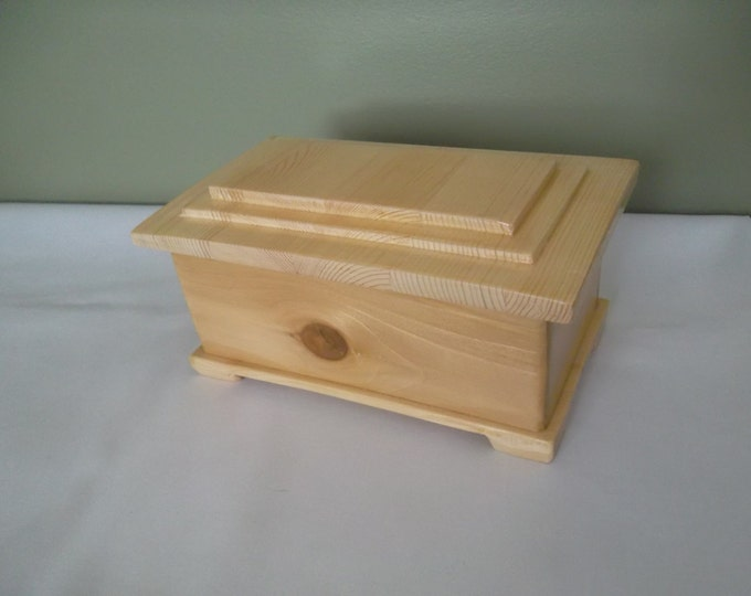 Featured listing image: Imitation 1837 Prisoners box.  It will hold your rings, necklaces, watches and earrings.