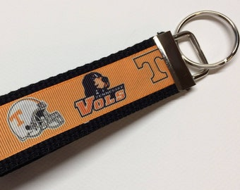 Tennessee Vols University of Tennessee Inspired Key Fob/Key Chain/Wristlet *Ready to Ship*