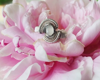Moonstone Ring size 9.5