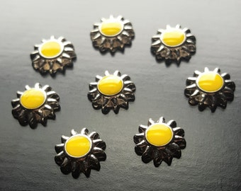 Sun Floating Charm for Floating Lockets-1 Piece-Gift Idea