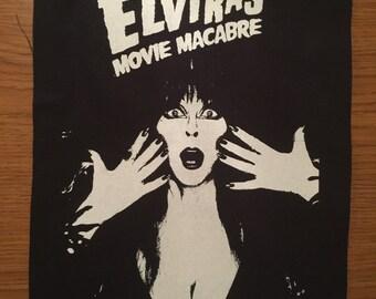 Elvira Cloth Back Patch