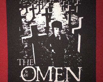 The Omen Cloth Punk Patch