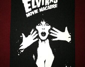 Elvira Cloth Punk Patch