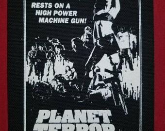Planet Terror Cloth Punk Patch
