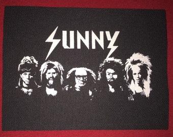 Always Sunny Cloth Punk Patch