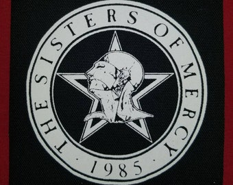 Sisters Of Mercy Cloth Punk Patch