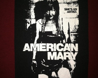 American Mary Cloth Punk Patch