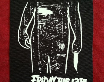 Friday The 13th Cloth Punk Patch