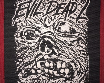 Evil Dead 2 Necronomicon Cloth Punk Patch