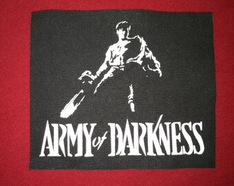 Army Of Darkness Cloth Punk Patch