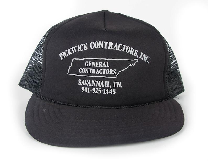 Vintage Tennessee Trucker Cap / Pickwick Contractors Hat / image 0