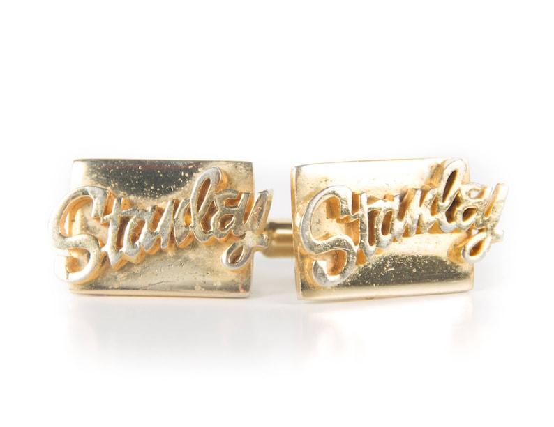 Vintage Stanley Tools Cufflinks / Mens Cufflinks / Tool Gift / image 0
