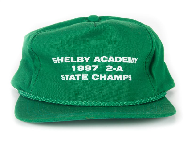 Vintage Shelby Academy 2-A State Champs Cap / High School image 0