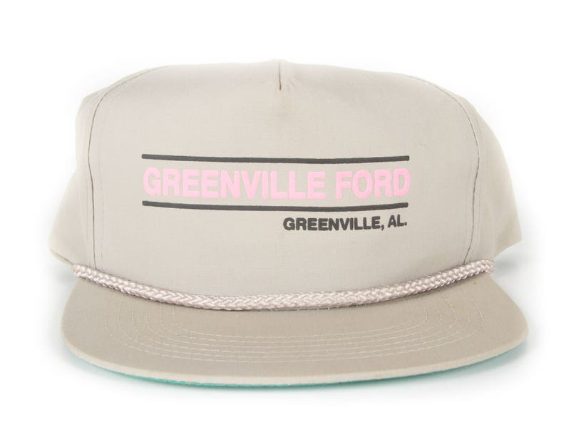 4eb1a2e29c0f3 Vintage Greenville Ford Cap   Ford Hat   Alabama Automotive