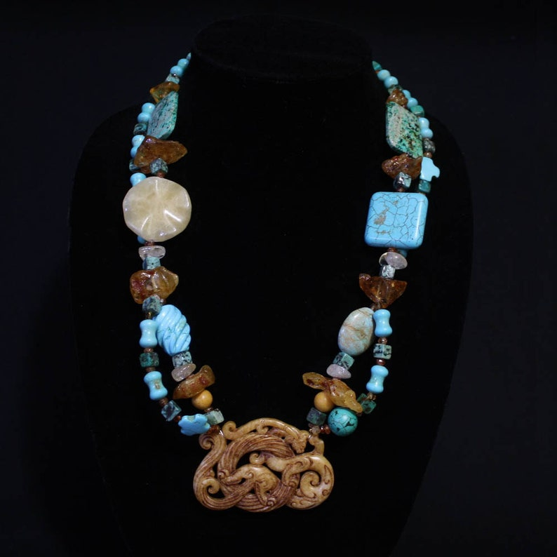 Mother of Dragons Jade necklace