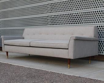 Miraculous Mid Century Sofa Etsy Creativecarmelina Interior Chair Design Creativecarmelinacom