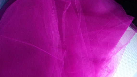 Extra Wide Tulle Fabric 108 Tulle 5 yards Pink or Black Costume Supplies 0163 0164