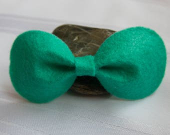 Baby Hair Bow, Hair Bow, Bow Headband, Baby Hair Accessory, Mint Hair Bow, Hair Accessories, Felt Hair Bow, Baby Shower Gift.