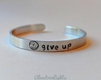 Donut Give Up bracelet