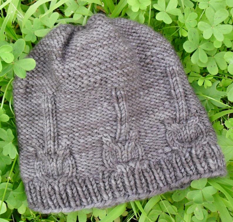 7b211db4e07 Knitting Pattern PDF Download Cable Knit Guitar Hat