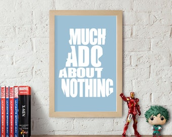Much Ado About Nothing Joss Whedon Inspired Poster