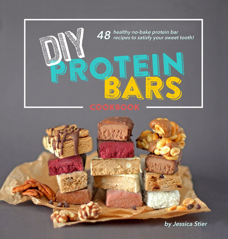 The DIY Protein Bars Cookbook PDF Download image 0