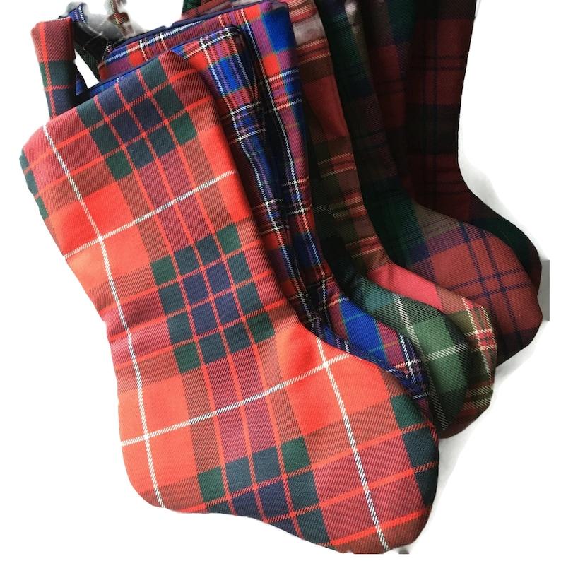 a buon mercato stile di moda del 2019 grande sconto Calze di Natale del clan scozzese, pronte per la spedizione dalla Scozia